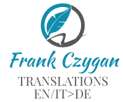Frank Czygan - High-quality translations EN/IT > DE